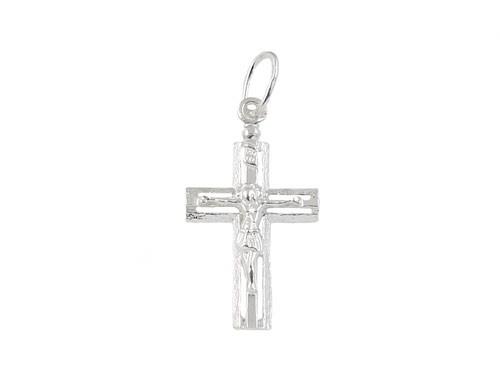 Krzyżyk srebrny.